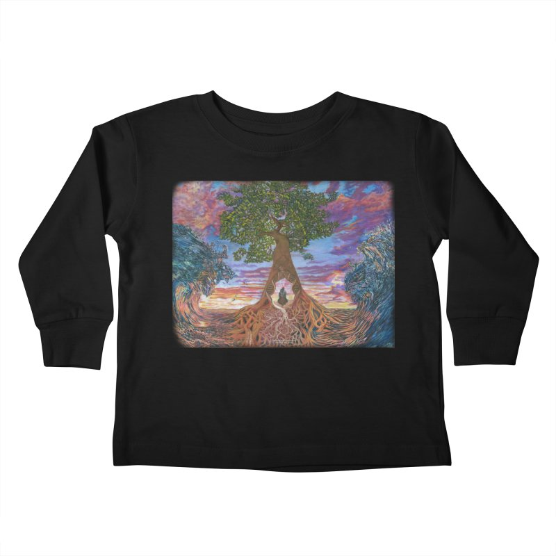 Birth Kids Toddler Longsleeve T-Shirt by Elevated Space