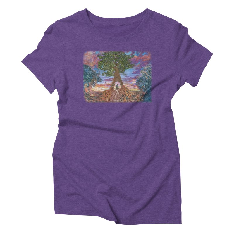 Birth Women's Triblend T-Shirt by Elevated Space