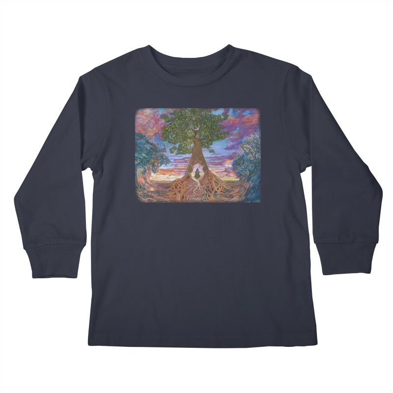 Birth Kids Longsleeve T-Shirt by Elevated Space