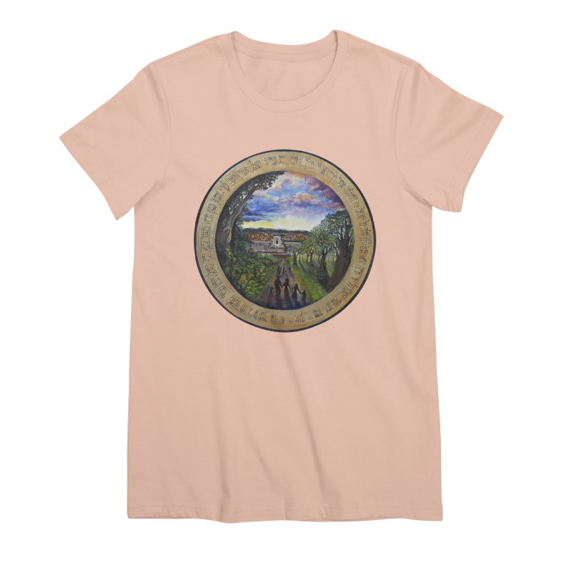 peace on earth Women's Premium T-Shirt by Elevated Space
