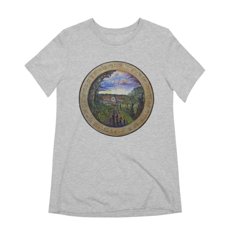 peace on earth Women's Extra Soft T-Shirt by Elevated Space