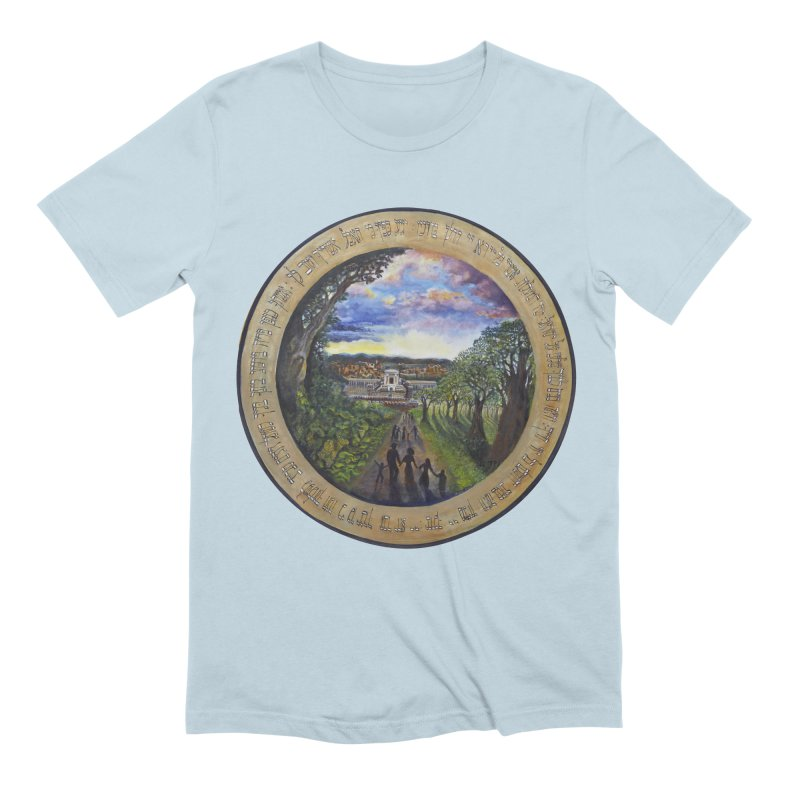 peace on earth Men's Extra Soft T-Shirt by Elevated Space