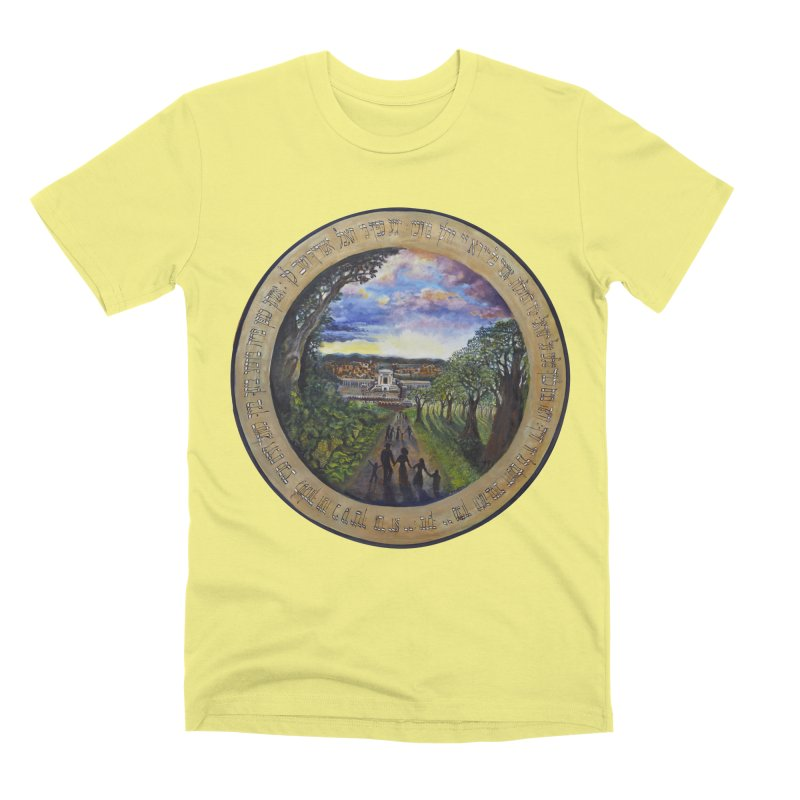 peace on earth Men's Premium T-Shirt by Elevated Space