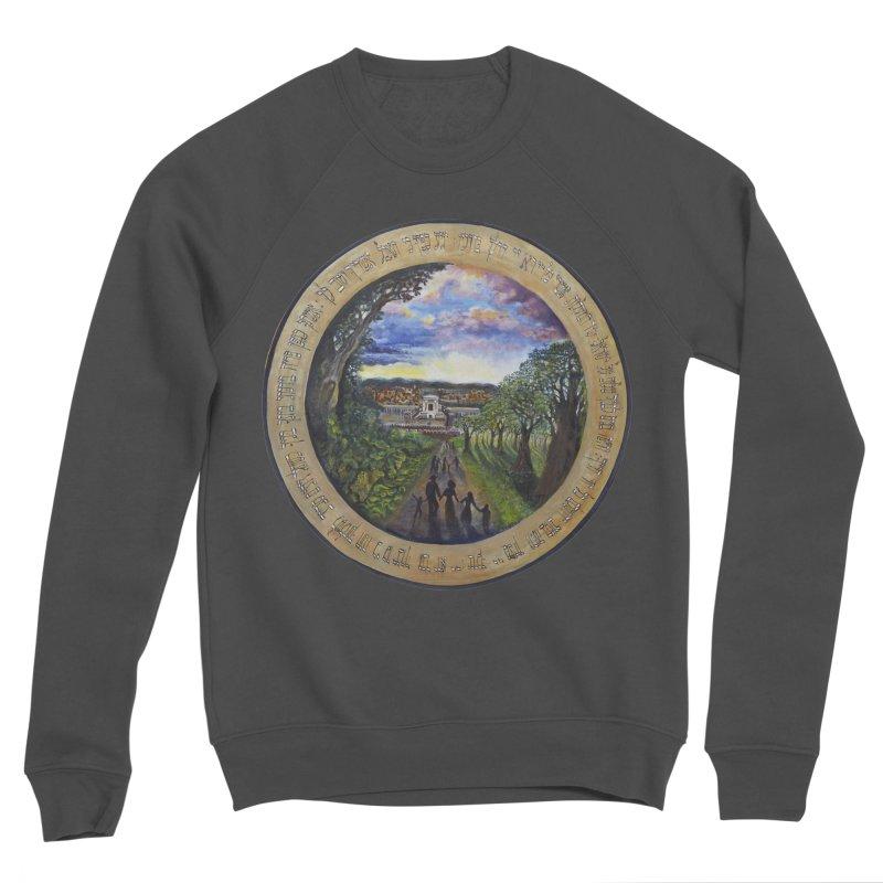 peace on earth Men's Sponge Fleece Sweatshirt by Elevated Space