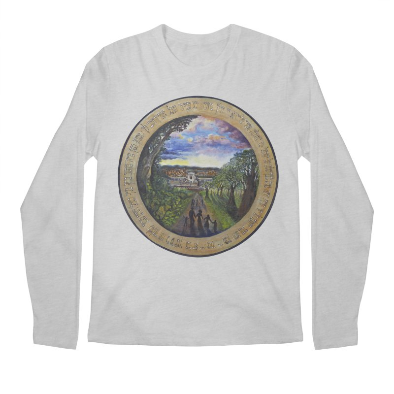 peace on earth Men's Regular Longsleeve T-Shirt by Elevated Space