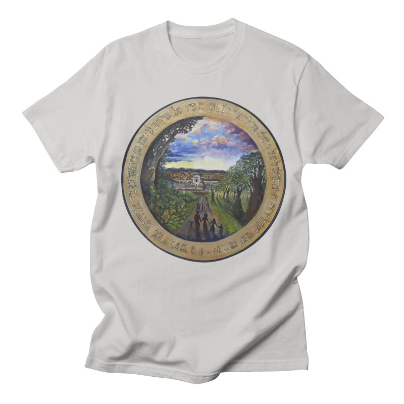 peace on earth Men's Regular T-Shirt by Elevated Space