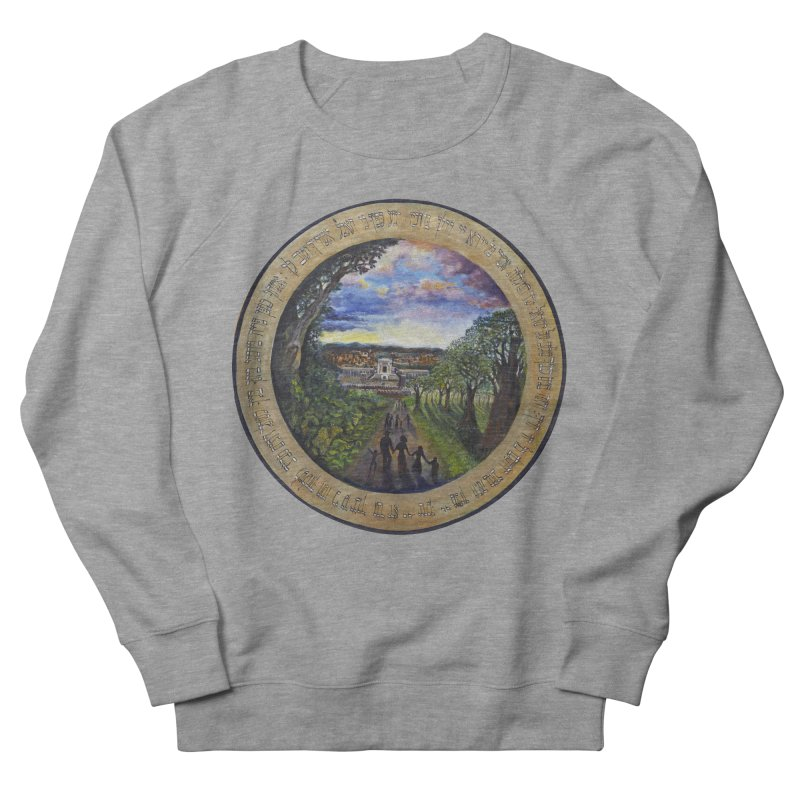peace on earth Women's French Terry Sweatshirt by Elevated Space