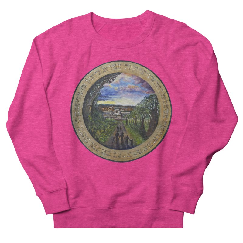 peace on earth Men's French Terry Sweatshirt by Elevated Space