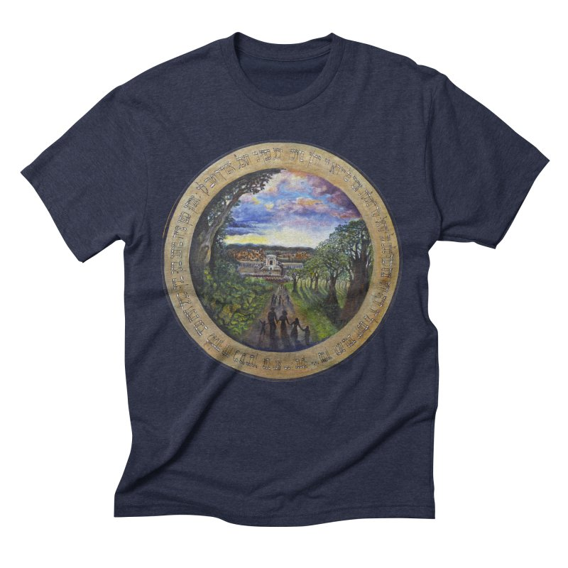 peace on earth Men's Triblend T-Shirt by Elevated Space