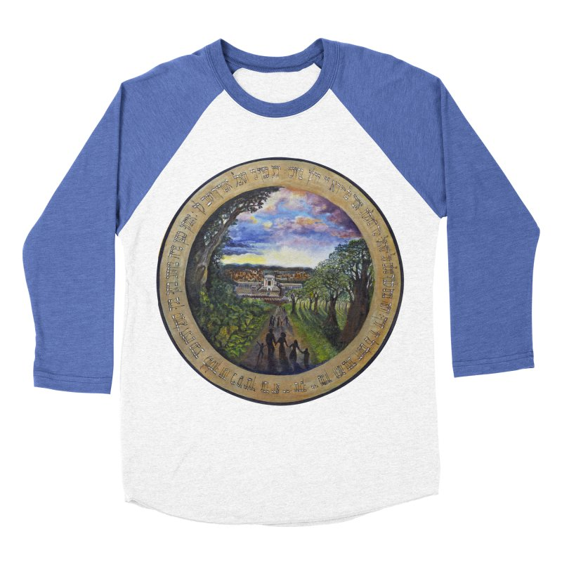 peace on earth Men's Baseball Triblend Longsleeve T-Shirt by Elevated Space