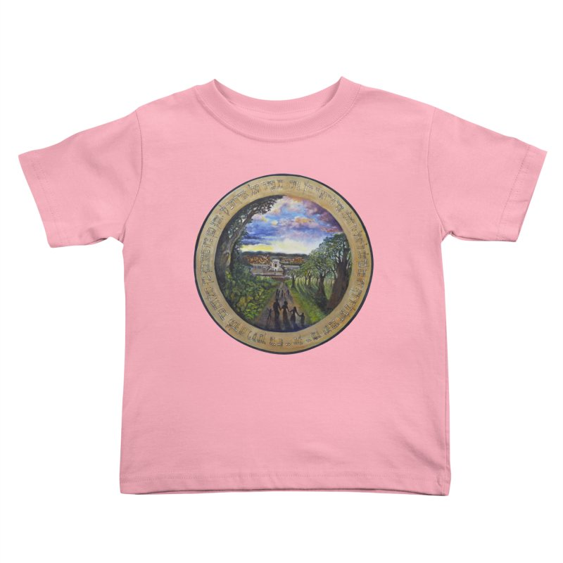 peace on earth Kids Toddler T-Shirt by Elevated Space