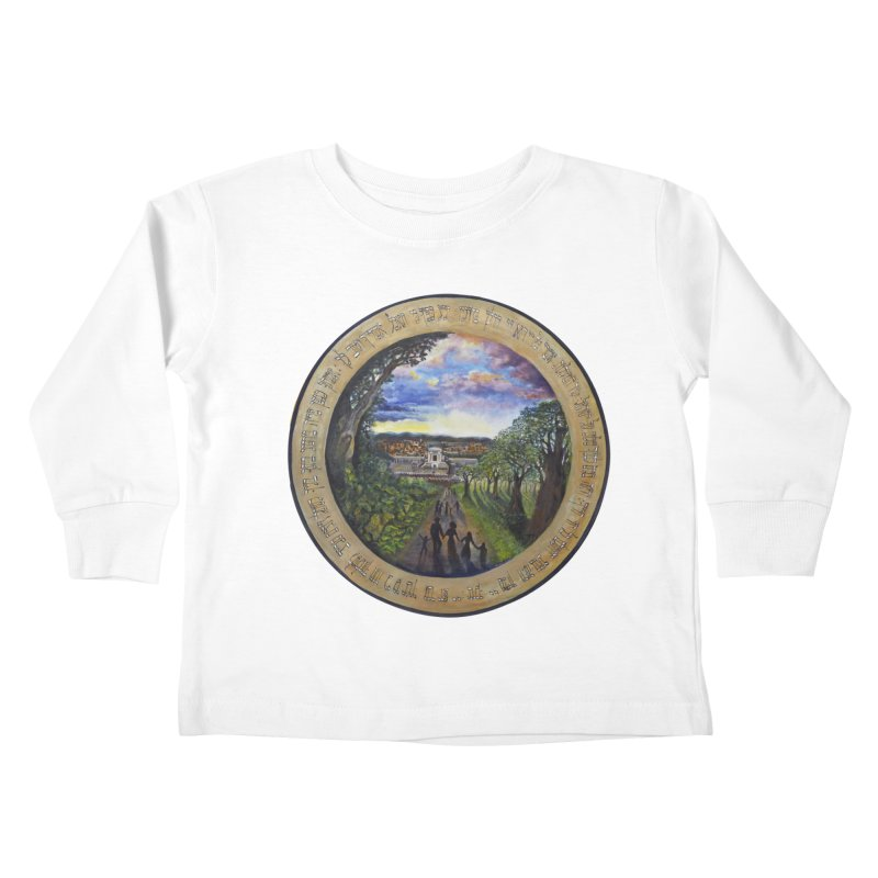 peace on earth Kids Toddler Longsleeve T-Shirt by Elevated Space
