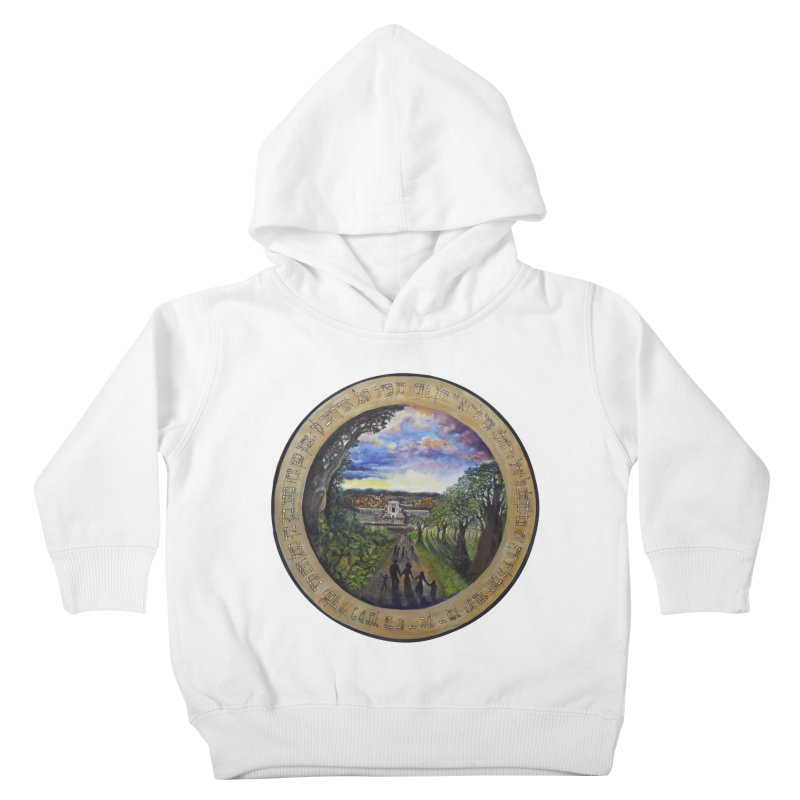 peace on earth Kids Toddler Pullover Hoody by Elevated Space