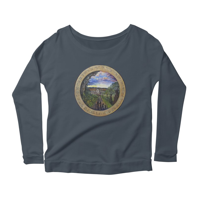 peace on earth Women's Scoop Neck Longsleeve T-Shirt by Elevated Space