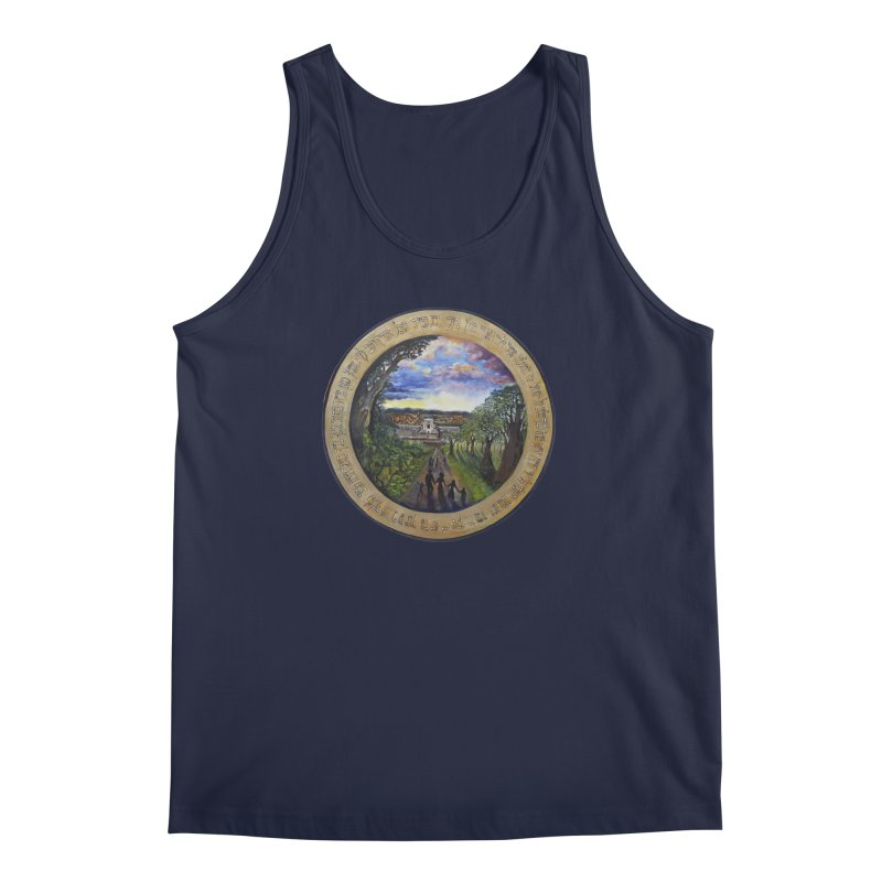 peace on earth Men's Regular Tank by Elevated Space