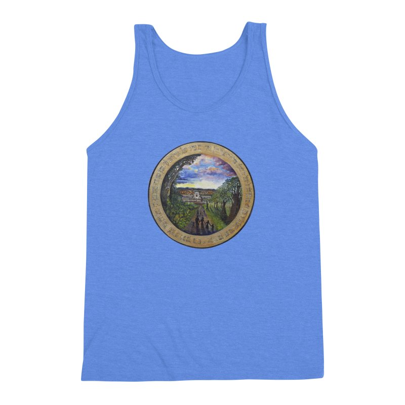 peace on earth Men's Triblend Tank by Elevated Space