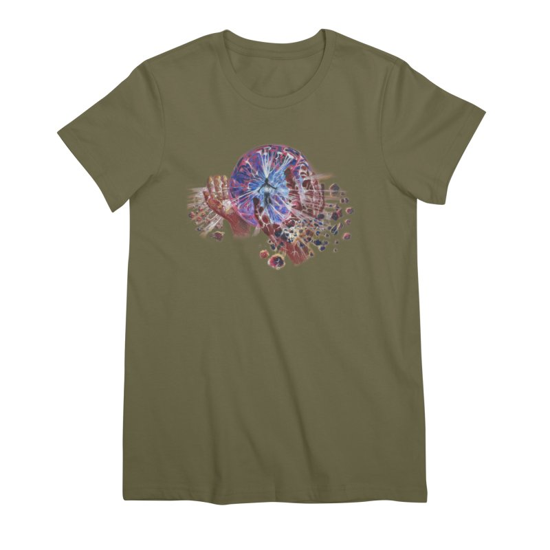 mind over matter Women's Premium T-Shirt by Elevated Space