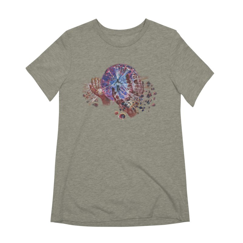 mind over matter Women's Extra Soft T-Shirt by Elevated Space