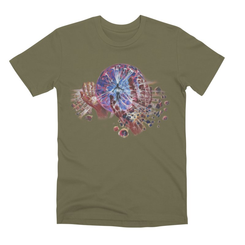 mind over matter Men's Premium T-Shirt by Elevated Space
