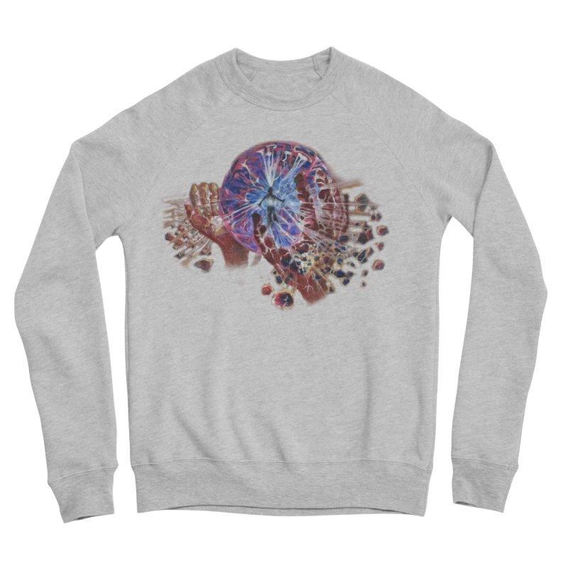 mind over matter Men's Sponge Fleece Sweatshirt by Elevated Space