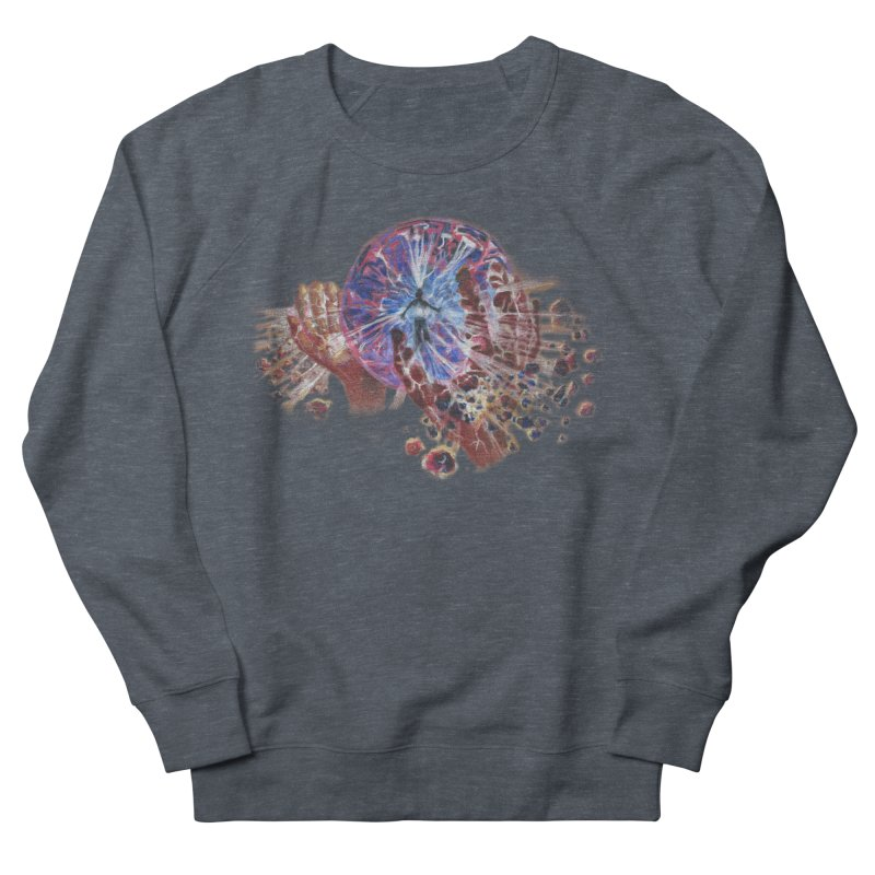 mind over matter Women's French Terry Sweatshirt by Elevated Space