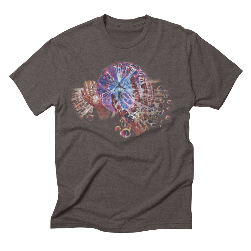 mind over matter Men's Triblend T-Shirt by Elevated Space