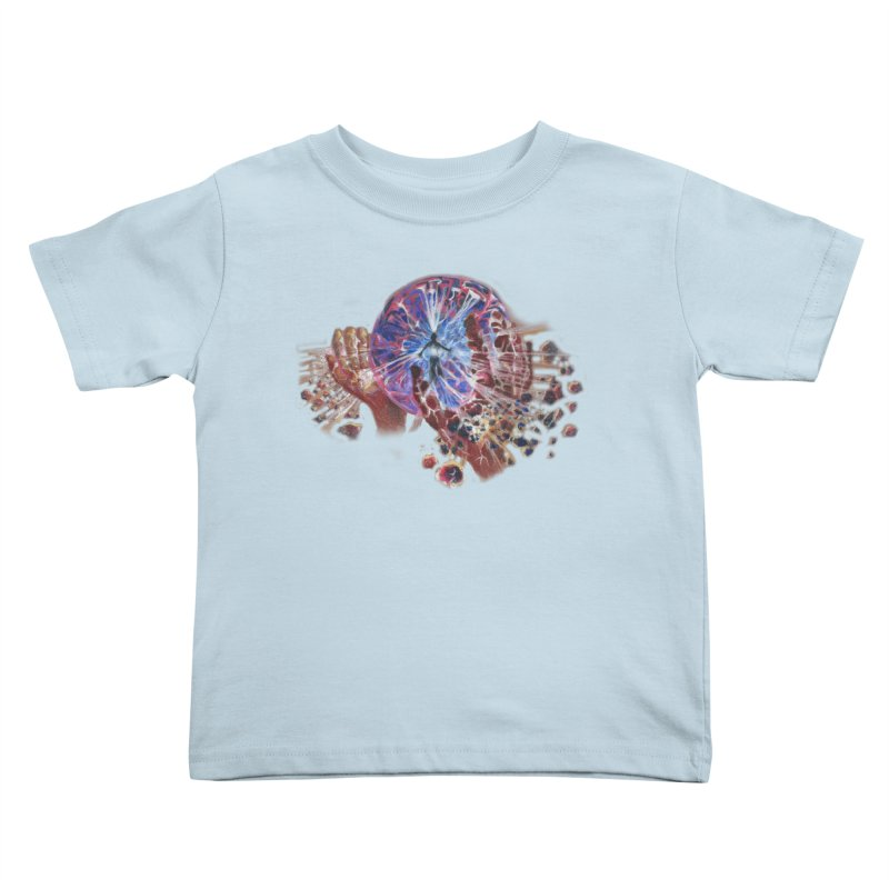 mind over matter Kids Toddler T-Shirt by Elevated Space