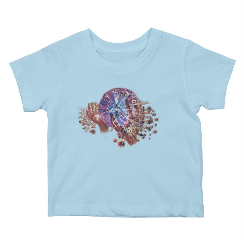 mind over matter Kids Baby T-Shirt by Elevated Space
