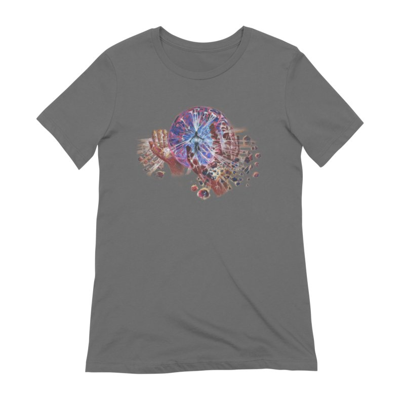 mind over matter Women's T-Shirt by Elevated Space