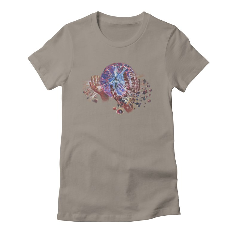 mind over matter Women's Fitted T-Shirt by Elevated Space