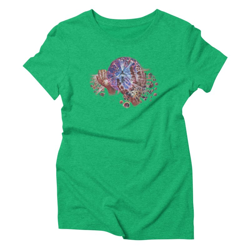 mind over matter Women's Triblend T-Shirt by Elevated Space