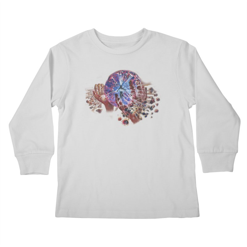 mind over matter Kids Longsleeve T-Shirt by Elevated Space