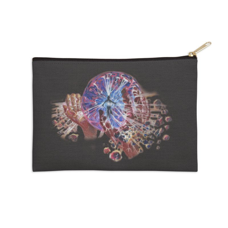 mind over matter Accessories Zip Pouch by Elevated Space