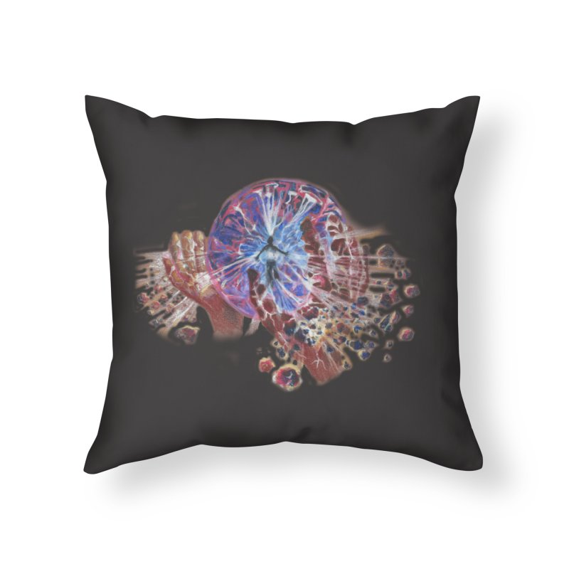 mind over matter Home Throw Pillow by Elevated Space
