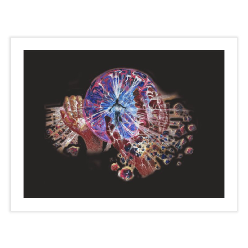 mind over matter Home Fine Art Print by Elevated Space