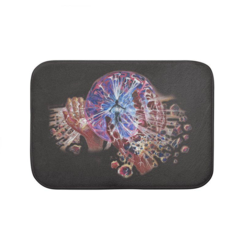 mind over matter Home Bath Mat by Elevated Space