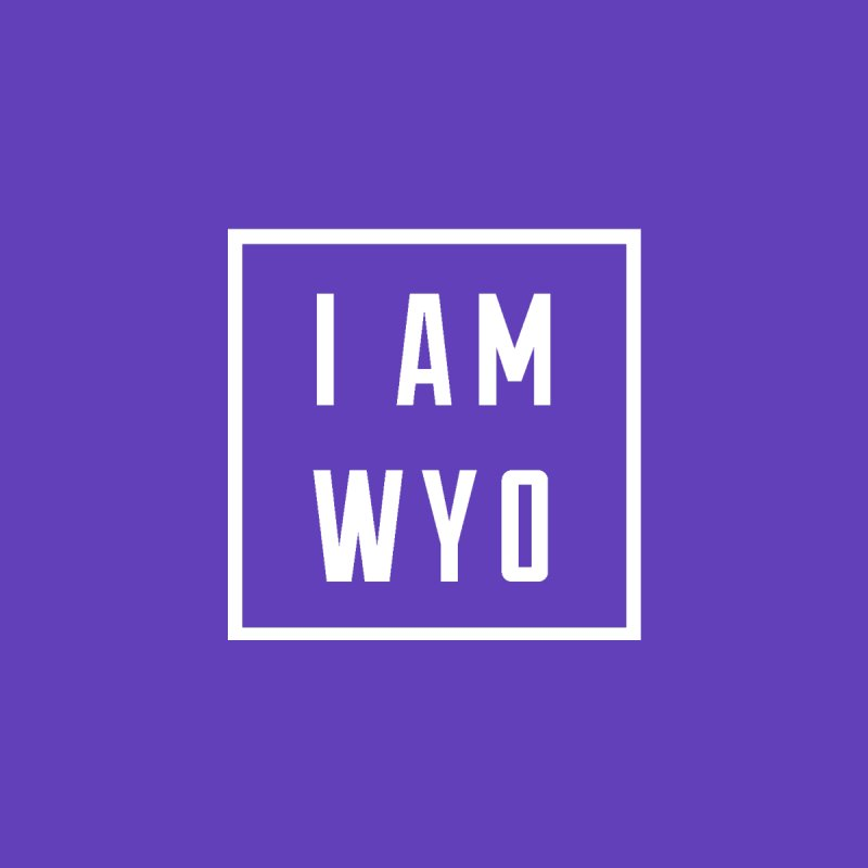 I AM WYO box Kids Pullover Hoody by Elevation Wyoming
