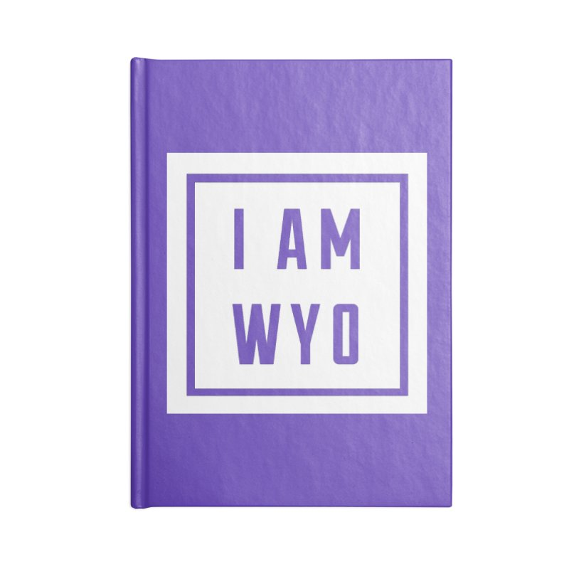 I AM WYO box Accessories Notebook by Elevation Wyoming
