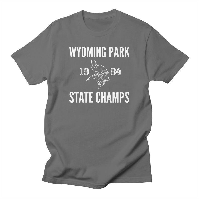 WP84 Champs white letters Men's T-Shirt by Elevation Wyoming