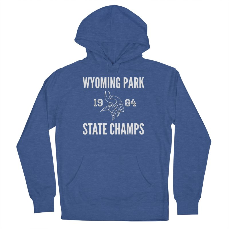 WP84 Champs white letters Women's French Terry Pullover Hoody by Elevation Wyoming