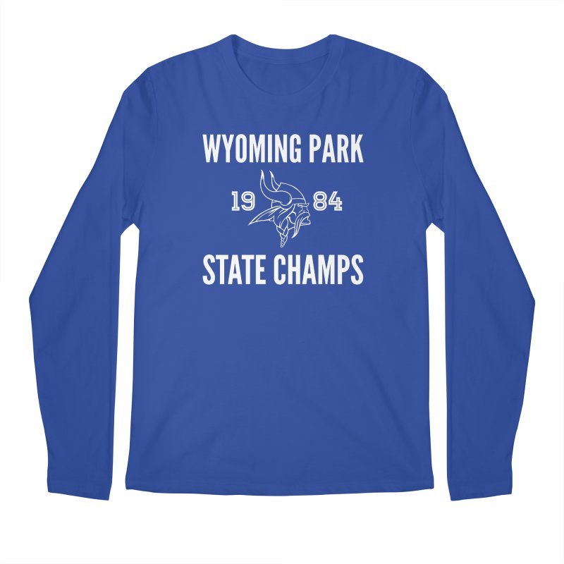 WP84 Champs white letters Men's Regular Longsleeve T-Shirt by Elevation Wyoming