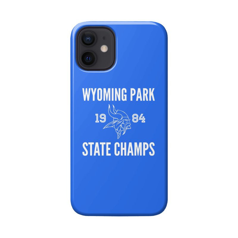 WP84 Champs white letters Accessories Phone Case by Elevation Wyoming