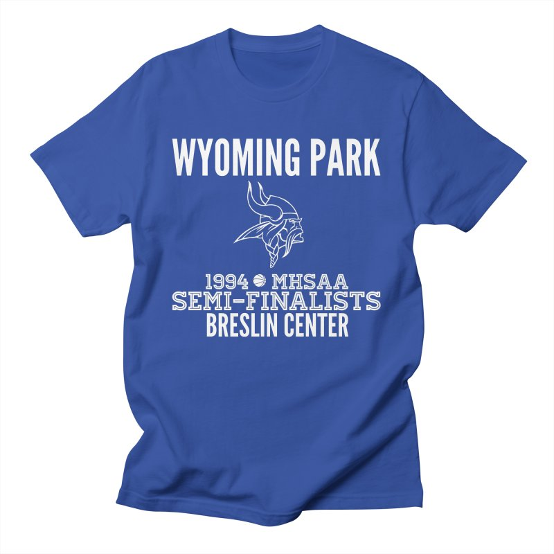 Wyoming Park 1994 Bball White Letters Men's T-Shirt by Elevation Wyoming