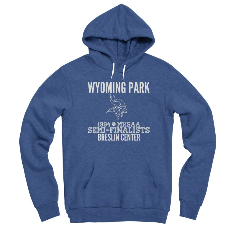 Wyoming Park 1994 Bball White Letters Men's Pullover Hoody by Elevation Wyoming