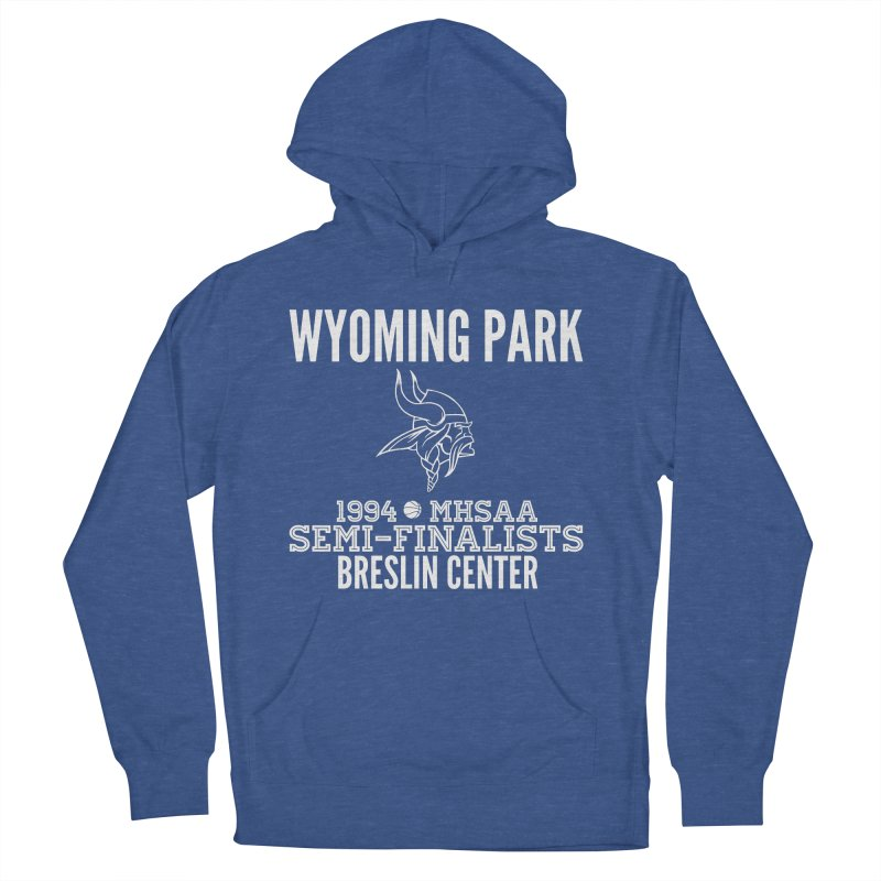 Wyoming Park 1994 Bball White Letters Women's French Terry Pullover Hoody by Elevation Wyoming