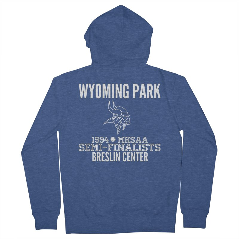 Wyoming Park 1994 Bball White Letters Women's Zip-Up Hoody by Elevation Wyoming