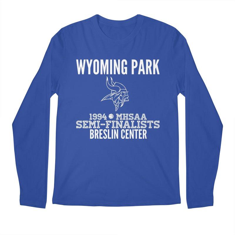 Wyoming Park 1994 Bball White Letters Men's Regular Longsleeve T-Shirt by Elevation Wyoming
