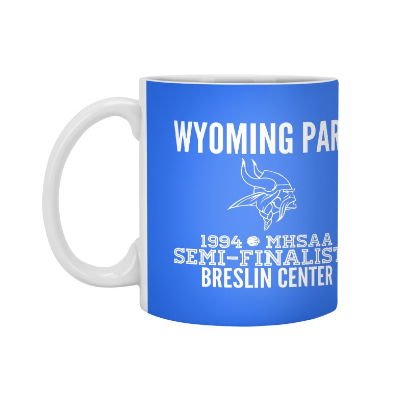 Wyoming Park 1994 Bball White Letters Accessories Mug by Elevation Wyoming