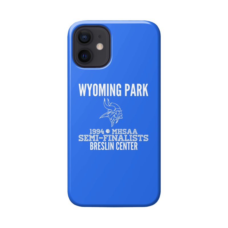 Wyoming Park 1994 Bball White Letters Accessories Phone Case by Elevation Wyoming