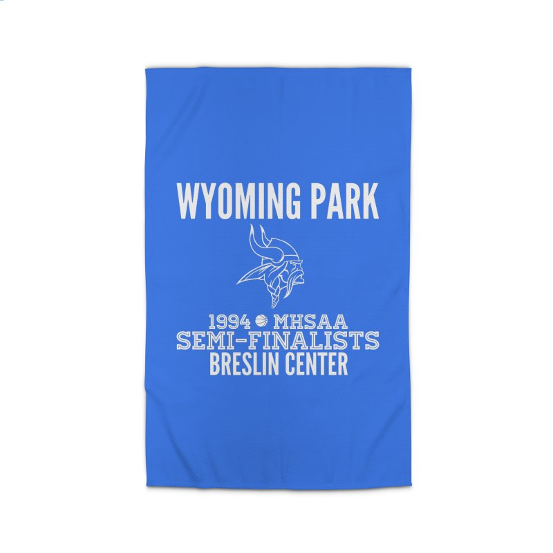Wyoming Park 1994 Bball White Letters Home Rug by Elevation Wyoming